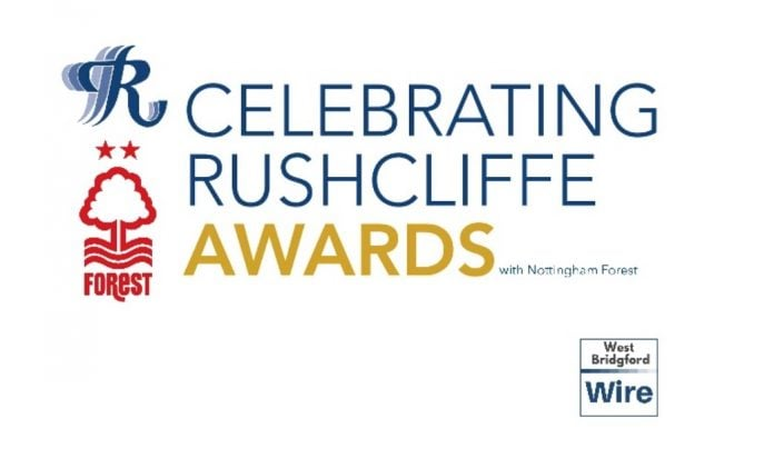 Logo Celebrating Rushcliffe awards